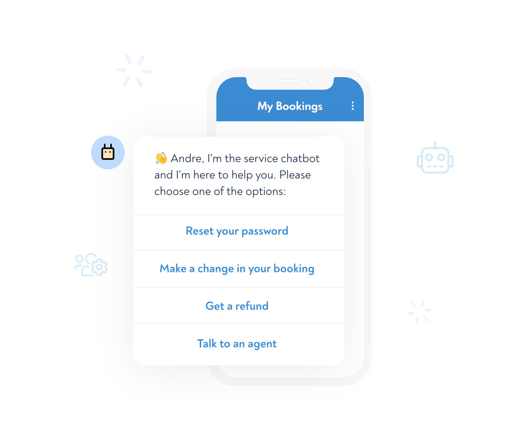 Self-service support, powered by AI