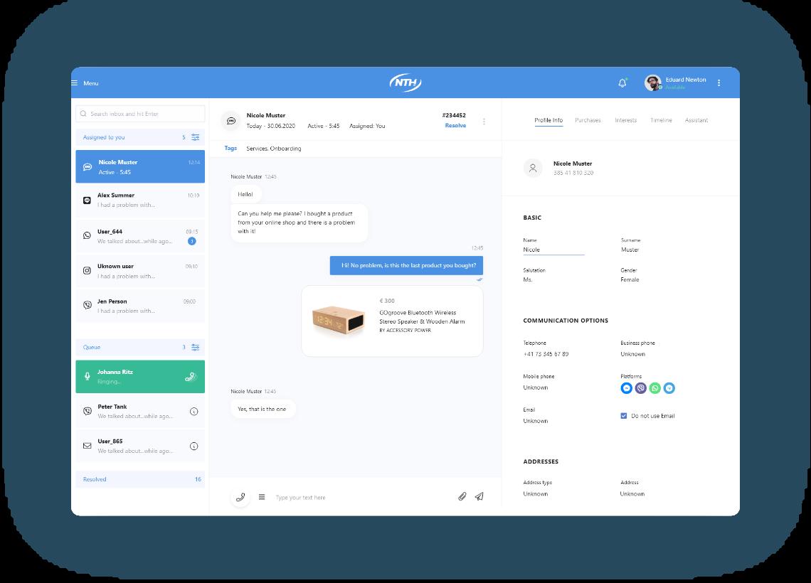 cloud contact center platform